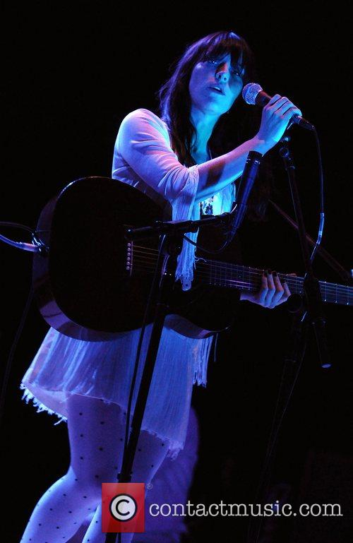 Feist (aka Leslie Feist) performs at the Royal...