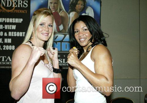 Female Professional Boxers Holly Holm and Mary Jo...