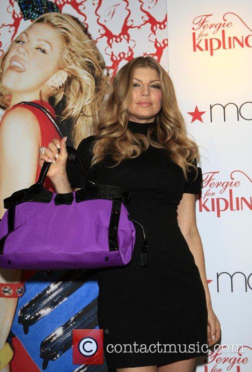 Fergie (Stacy Ferguson) signs her handbag collection 'Fergie...