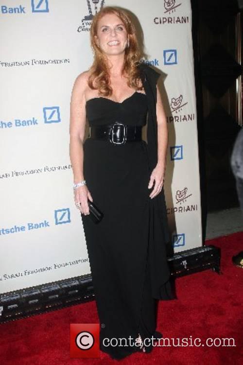 Sarah Ferguson, Duchess of York Wall Street Concert...