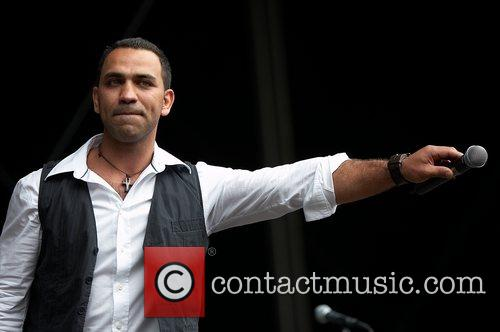 Luxembourgish band Cesar and Band performing live at...