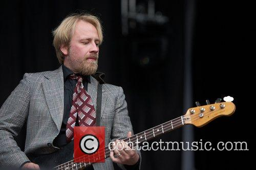 Swedish band Animal Five performing live at Festival...