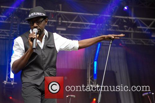 Luxembourgish band Funky P performing live at Festival...