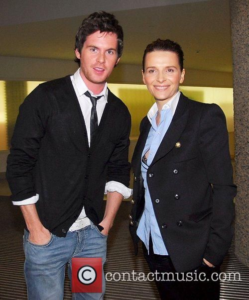 Tom Riley and Juliette Binoche Screening of 'Quelques...