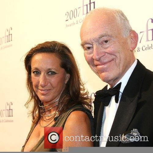 Donna Karan and guest 35th Annual FIFI Awards...