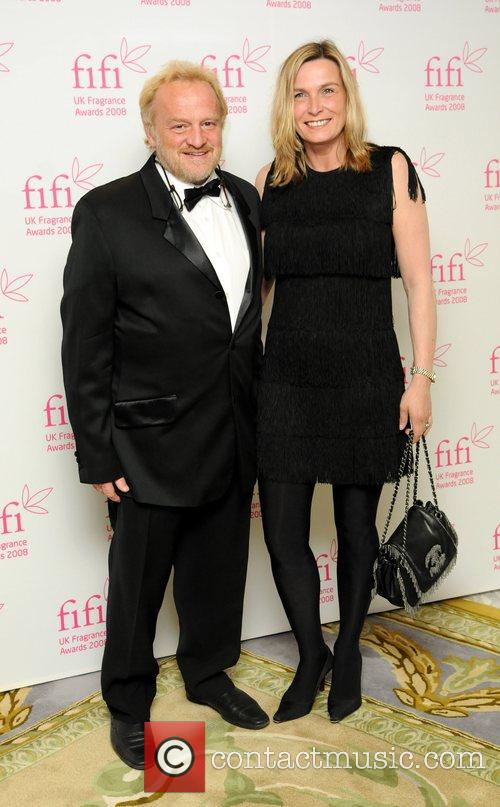 Anthony Worrell Thompson and guest Fifi fragrance awards...