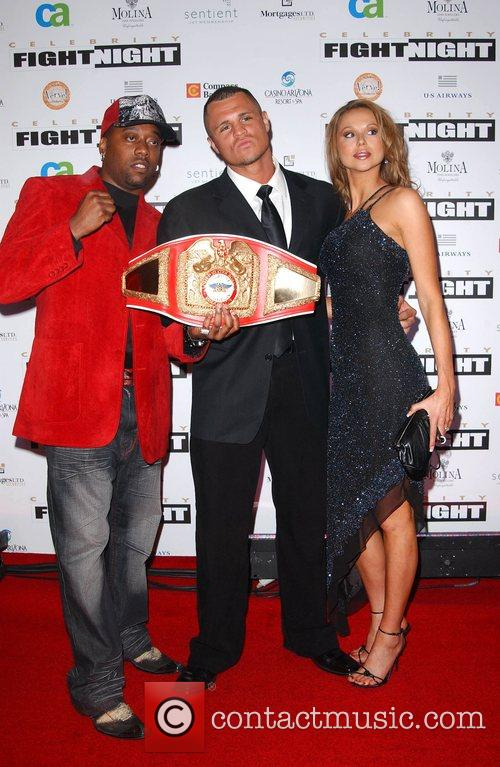 Guests Fight Night XIV held at the JW...