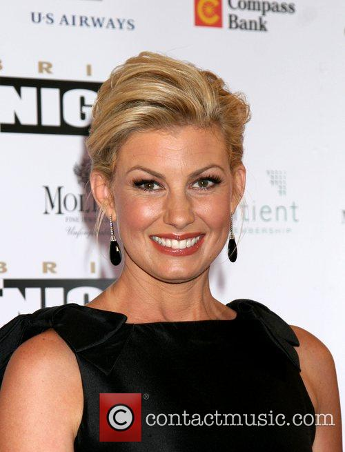 Faith Hill Fight Night XIV held at the...