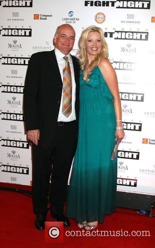 Melissa Peterman and Husband Fight Night XIV held...