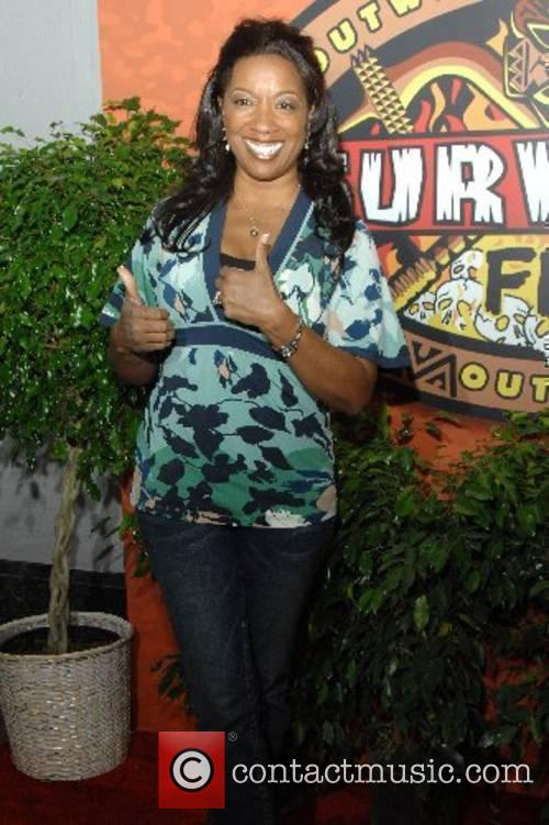 Cassandra Franklin Survivor: Fiji Finale held at the...