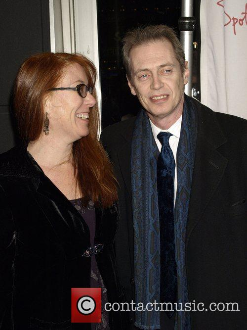Jo Anders and Steve Buscemi 2007 New York...