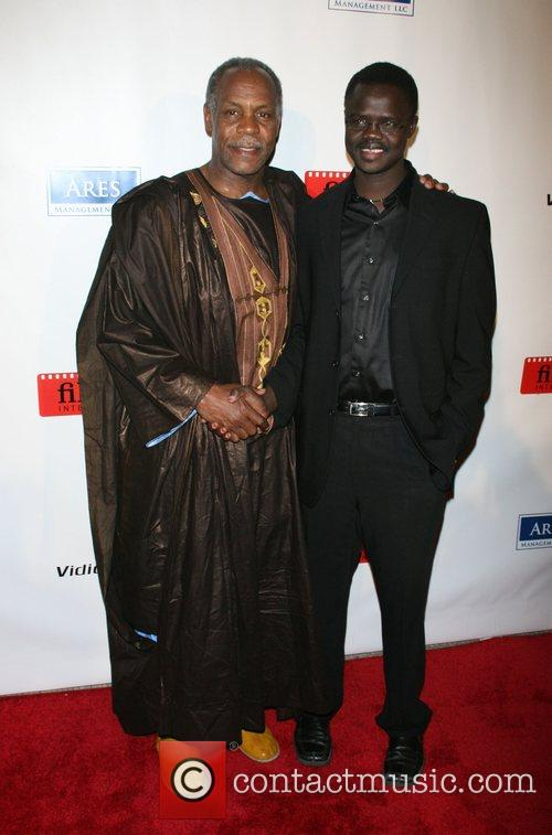 Danny Glover and Valentino Achak Deng 6