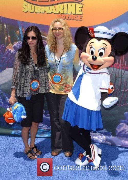Courteney Cox and Lisa Kudrow Launch of the...