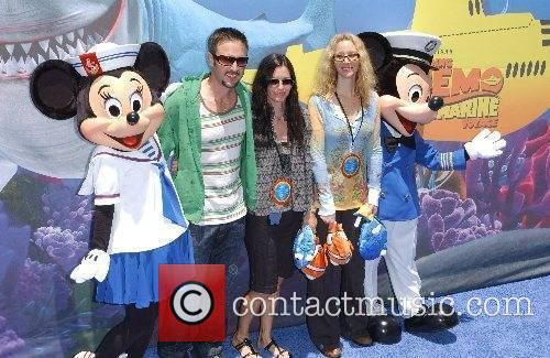 David Arquette, Courteney Cox and Lisa Kudrow Launch...