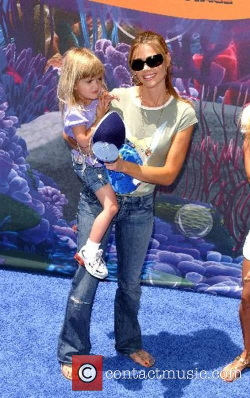 Denise Richards and daughter Sam Sheen Launch of...