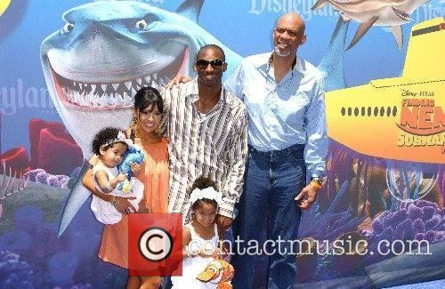 Kobe Bryant and family Launch of the Finding...