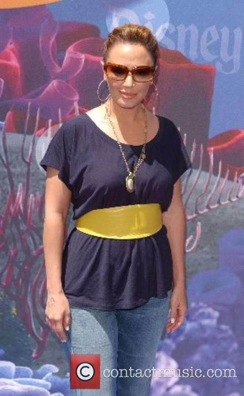 Leah Remini Launch of the Finding Nemo Submarine...