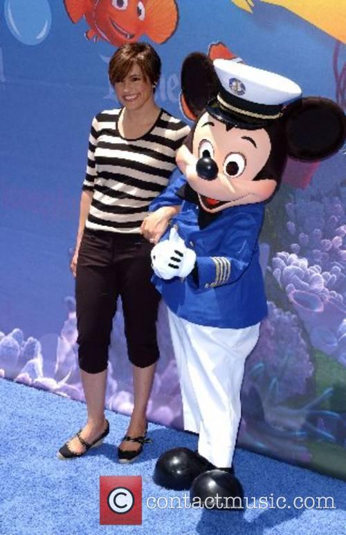 Mariska Hargitay Launch of the Finding Nemo Submarine...