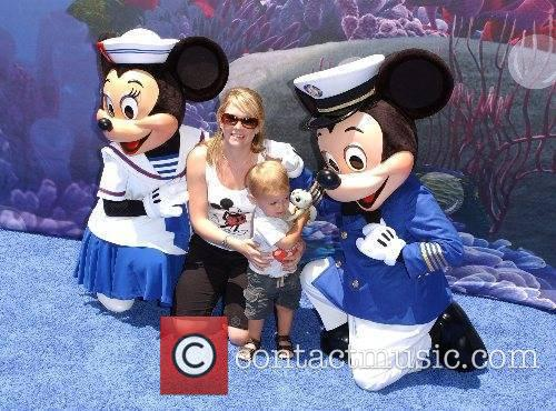 Melissa Joan Hart and son Mason Launch of...