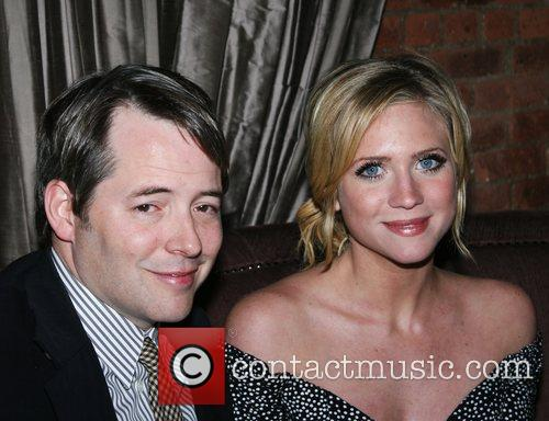 Matthew Broderick and Brittany Snow Tribeca Film Festival...