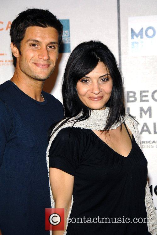 Callie Thorne, Mike Lombardi Tribeca Film Festival 2008...