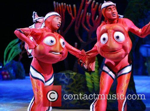 Disney presented Finding Nemo On Ice