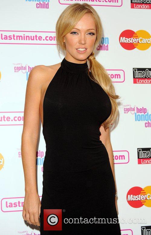 Aisleyne Horgan Wallace Launch night of London Restaurant...