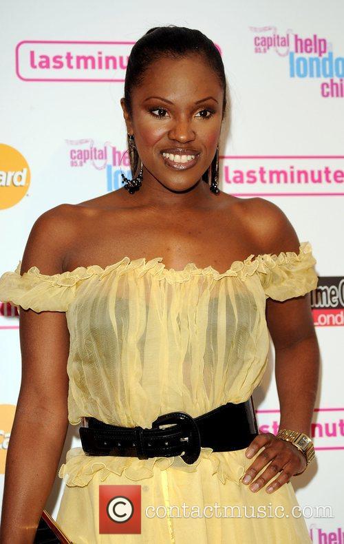 Kelle Bryan Launch night of London Restaurant Week...
