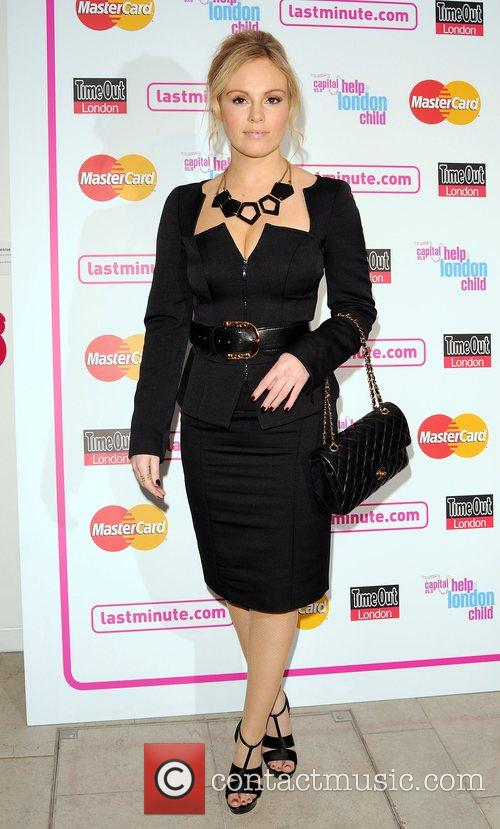 Launch night of London Restaurant Week - Celebrities...