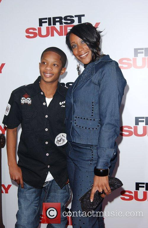 CJ Saunders LA Premiere of 'First Sunday' at...