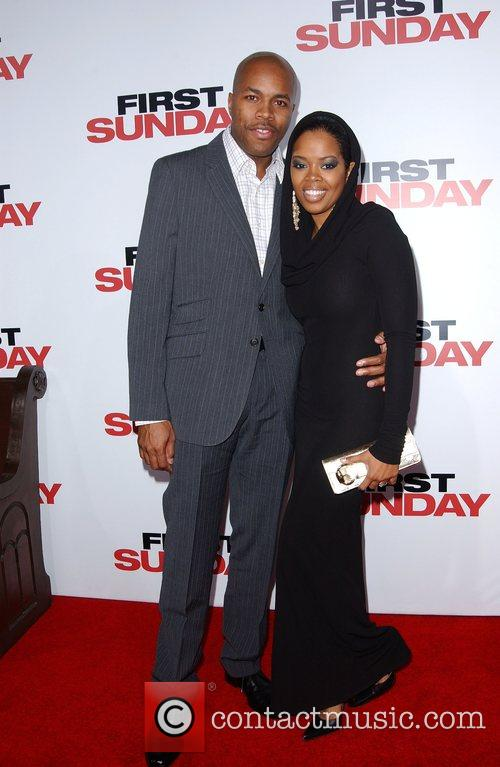 LA Premiere of 'First Sunday' at the The...