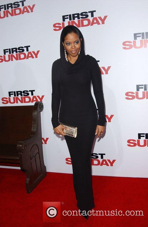 Malinda Williams LA Premiere of 'First Sunday' at...
