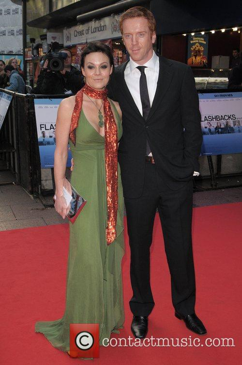 Helen Mccrory and Damien Lewis 2