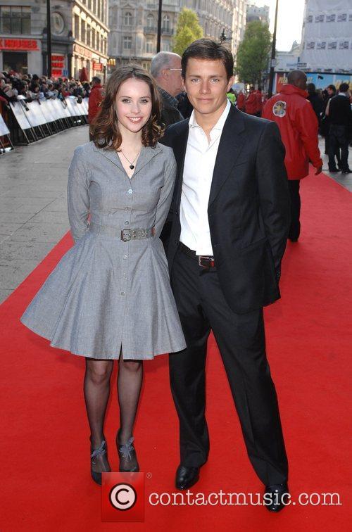 Felicity Jones and Harry Eden 2