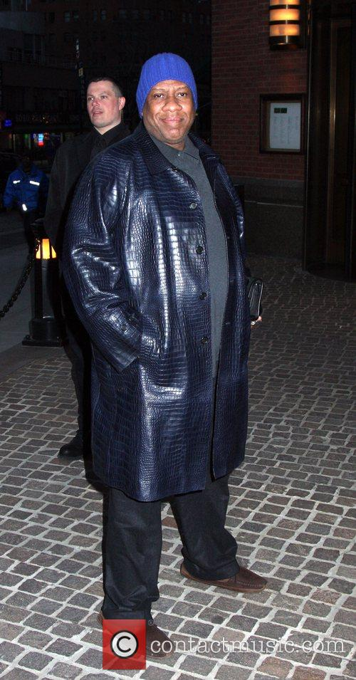 Andre Leon Talley and Tribeca Grand Hotel 6
