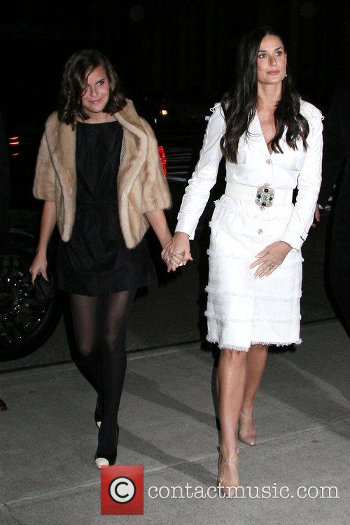 Demi Moore and Tallulah Belle Willis 5