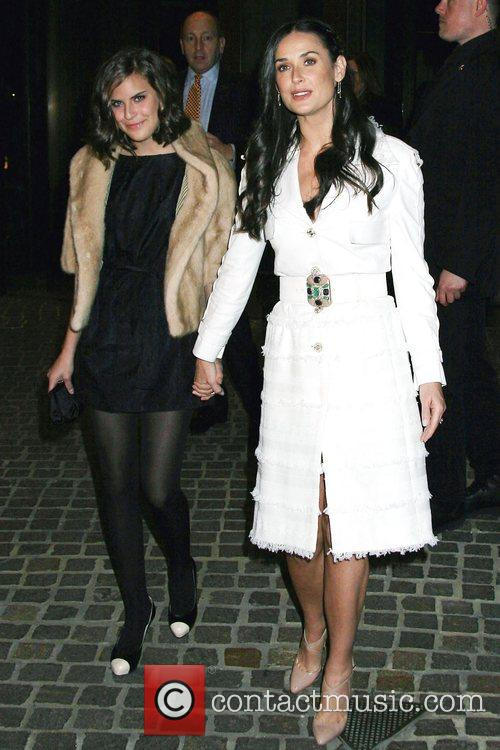 Demi Moore and Tallulah Belle Willis 6