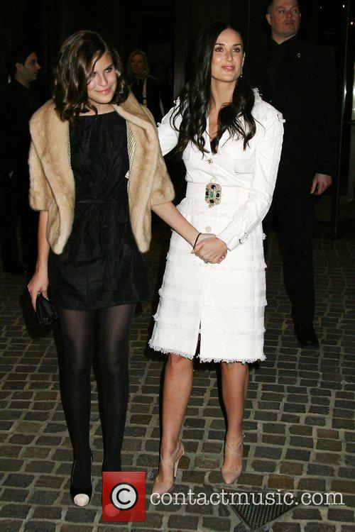 Demi Moore and Tallulah Belle Willis 7