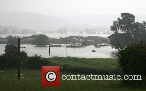 Severe flooding to farmland and businesses near the...