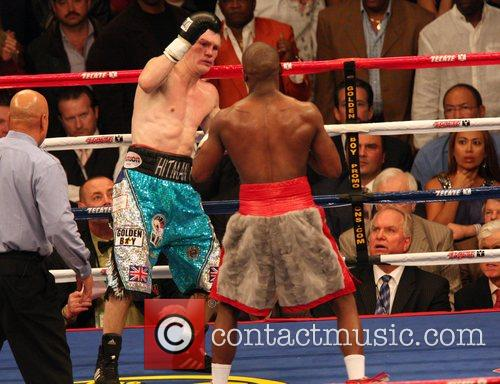 'pretty boy' floyd mayweather knocked out 'the hitman' ricky hatton 1693445
