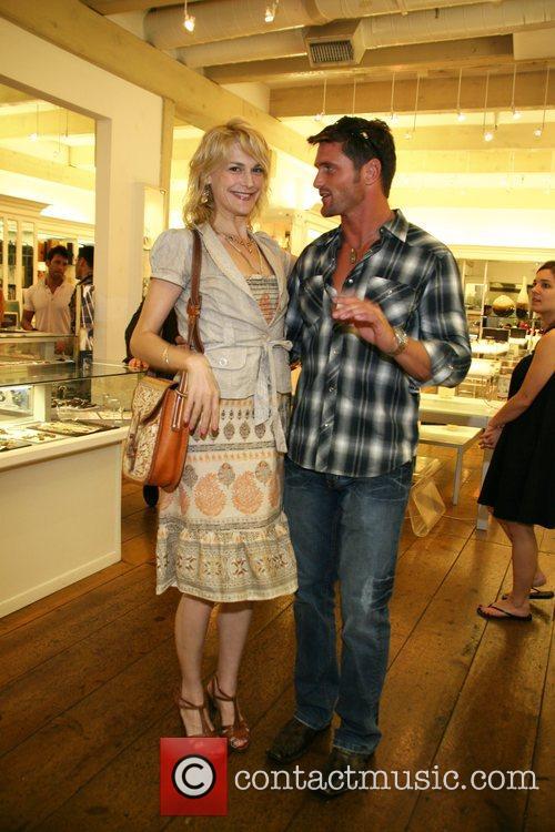 Reichen Lehmkuhl, joined by jewelry designer Udi Behr,...