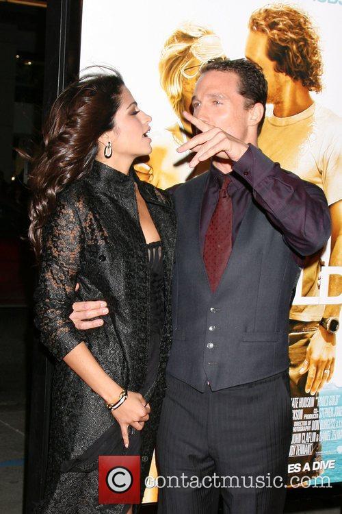 Camila Alves & Matthew McConaughey Los Angeles Premiere...