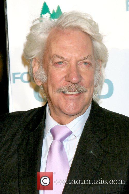 Donald Sutherland Los Angeles Premiere of 'Fool's Gold'...