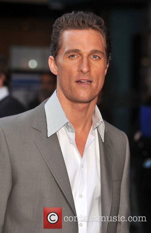 Matthew McConaughey UK film Premiere of 'Fool's Gold'...