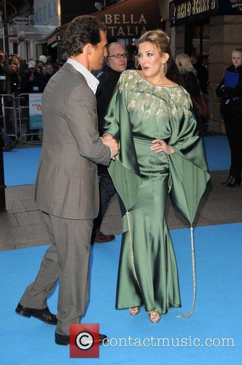 Matthew McConaughey and Kate Hudson UK film Premiere...