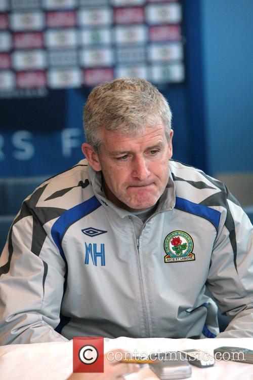 Mark Hughes Benni McCarthy signs a new contract...