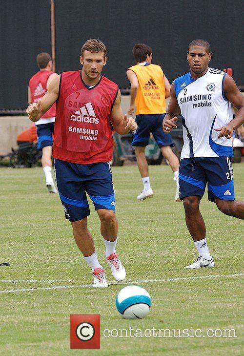 Chelsea Football Club Training Camp at UCLA Los...