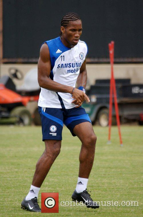 Chelsea Football Club Training Camp at UCLA