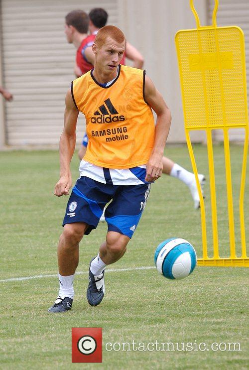 Steve Sidwell Chelsea Football Club Training Camp at...