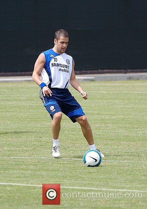 Joe Cole Chelsea Football Club Training Camp at...